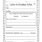 Daily 5/Literacy Center- Listen to Reading Bundle