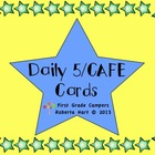 Daily 5/CAFE Cards - Owl Theme