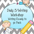 Daily 5/Writer's Workshop- Writing Ready to go Pack #2!