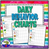 Daily Behavior Chart for Primary Grades