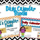 Daily Calendar Bundle