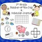 All Year Long-- Daily Calendar Journal and Number of the D