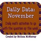 Daily Data and Question of the Week for November