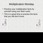 Daily Fun Multiplication Facts Practice Powerpoint (Common Core)