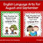 Daily Language Arts Practice for Second Grade (August & Se