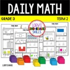 Daily Math- Common Core - Grade 3 - Term 2