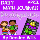 Math Journals for April-CCSS Aligned