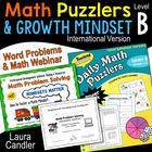 Daily Math Puzzlers Level B (International)