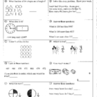 Daily Math Review and Quizzes - 2nd Grade - 3rd Quarter