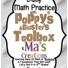Daily Math With Poppy's & Buster's Toolbox & Ma's Creation