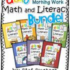 Daily Math and Literacy {ALL YEAR BUNDLE!} Kindergarten Mo