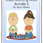 Daily Morning Work Bundle 5
