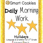 Daily Morning Work Holiday Smart Cookies!