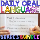 Daily Oral Language (DOL) BUNDLE: Aligned to 3rd Grade CCSS