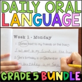 Daily Oral Language (DOL) BUNDLE: Aligned to 5th Grade CCSS
