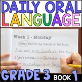 Daily Oral Language (DOL) Book 1: Aligned to 3rd Grade CCSS