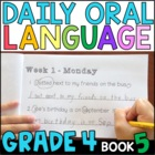 Daily Oral Language (DOL) Book 5: Aligned to the 4th Grade CCSS
