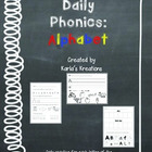 Daily Phonics: Alphabet