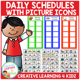 Autism Daily Picture Schedules with 72 PECS ABA