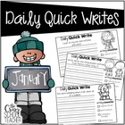 Daily Quick Writes {January}