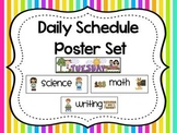 Daily Schedule Posters-Back to School