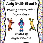 Daily Skills Sheets Unit 2 Reading Street Grade 2, 2011 &