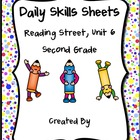 Daily Skills Sheets Unit 6 Reading Street Grade 2, 2011 &