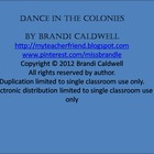 Dancing in the Colonies Lesson Plans