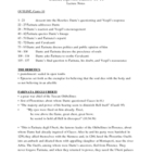 Dante's Inferno Lecture Notes, Cantos 10-11