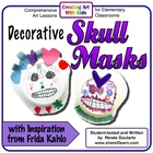 Day of the Dead Decorative Skull Masks Art Lesson