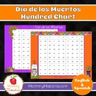 Day of the Dead - Día de los Muertos - Hundred Chart