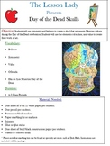 Day of the Dead or Dia de los Muertos Skull Art Lesson
