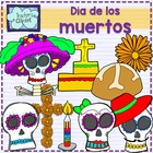 Day of the dead - Dia de los muertos clip art