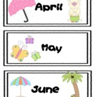 Days and Months Sequencing