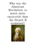 DBQ Comparing American and French Revolution