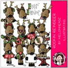 DeAnne's Rocking Reindeer bundle by melonheadz