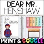 Dear Mr. Henshaw by Beverly Cleary: Complete Unit of Readi