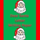 Dear Santa Friendly Letter Christmas Writing Sheet