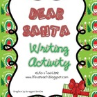 Dear Santa Letter Writing Activity