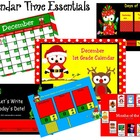 December 1st Grade Calendar for ActivBoard