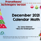 December 2013 Calendar for the Promethean Board