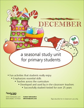 December 32-Page Thematic Lesson Plans Booklet