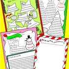 December Book Report Freebie