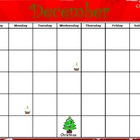 December Calendar Flipchart for ActivInspire