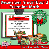 December Calendar Math/Morning Meeting for SMARTBoard