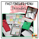 "December ""I'm Done"" Menu Pack"