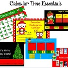 December Kindergarten Calendar for ActivBoard