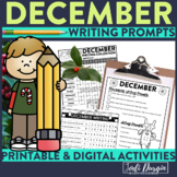 December Mega-Writing Packet {Task Card Prompts, Posters,