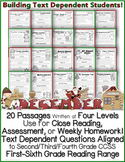 December Passages: Use For Close Reading or Homework *Alig