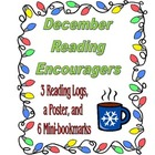 December  Reading Encouragers - Reading Logs, Poster, and